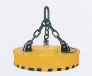 MW5系列吊运废钢用起重电磁铁